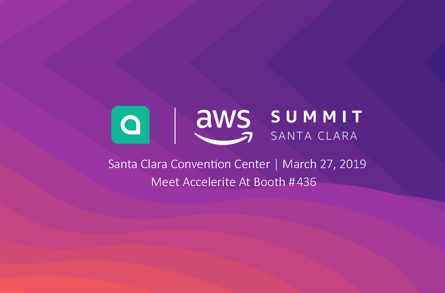 Meet the Accelerite ShareInsights Team at the AWS Summit in